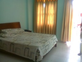 Villa for rent in Binh Thanh District, 10x20m, 3 bedroom, 4wcs, big yards, big garden and fully furnished
